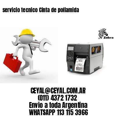 servicio tecnico Cinta de poliamida