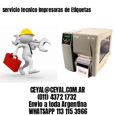 servicio tecnico Impresoras de Etiquetas