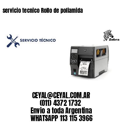servicio tecnico Rollo de poliamida