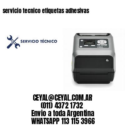 servicio tecnico etiquetas adhesivas