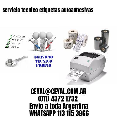 servicio tecnico etiquetas autoadhesivas