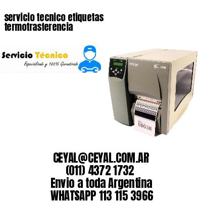 servicio tecnico etiquetas termotrasferencia