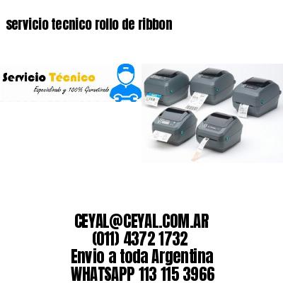 servicio tecnico rollo de ribbon