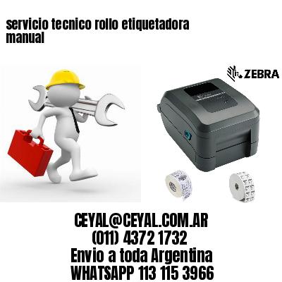 servicio tecnico rollo etiquetadora manual