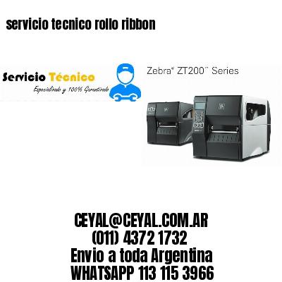 servicio tecnico rollo ribbon