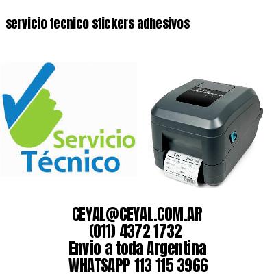 servicio tecnico stickers adhesivos