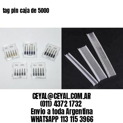 tag pin caja de 5000