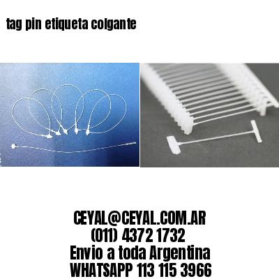 tag pin etiqueta colgante