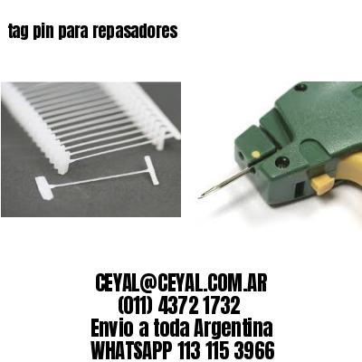 tag pin para repasadores