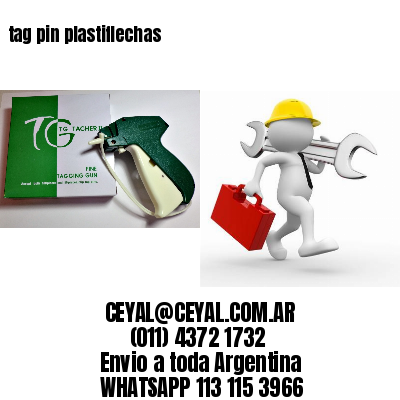 tag pin plastiflechas