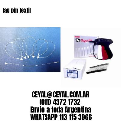 tag pin textil