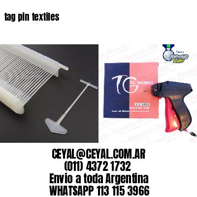 tag pin textiles