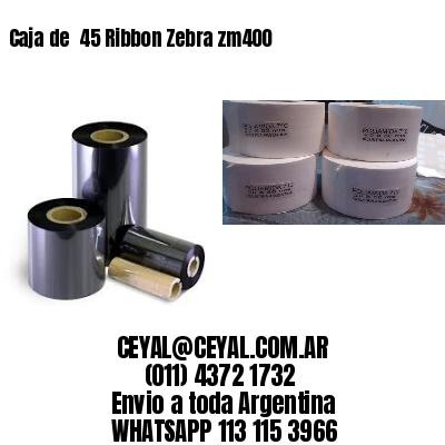 Caja de  45 Ribbon Zebra zm400