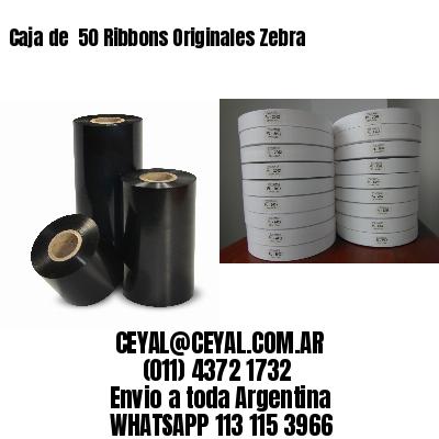Caja de  50 Ribbons Originales Zebra