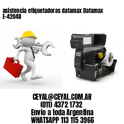 asistencia etiquetadoras datamax Datamax E-4204B