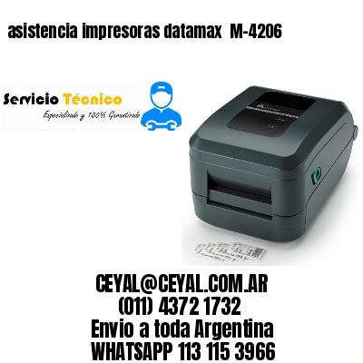 asistencia impresoras datamax  M-4206