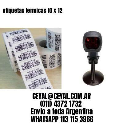 etiquetas termicas 10 x 12