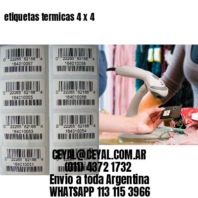 etiquetas termicas 4 x 4