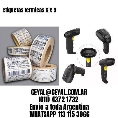 etiquetas termicas 6 x 9