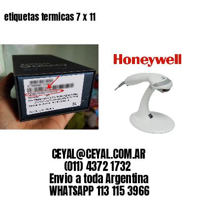 etiquetas termicas 7 x 11