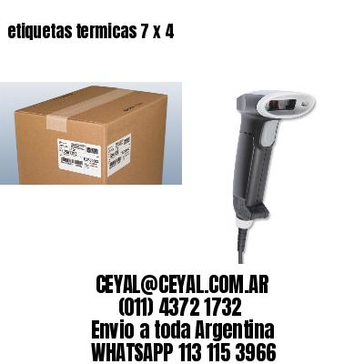 etiquetas termicas 7 x 4