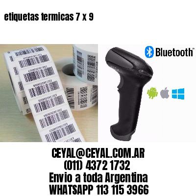etiquetas termicas 7 x 9
