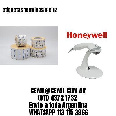 etiquetas termicas 8 x 12