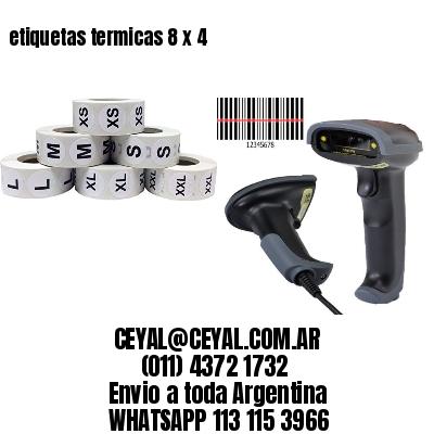etiquetas termicas 8 x 4