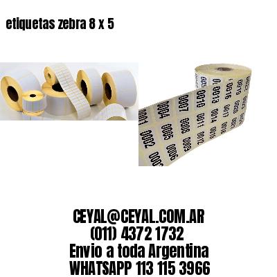 etiquetas zebra 8 x 5