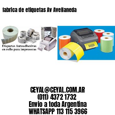 fabrica de etiquetas Av Avellaneda