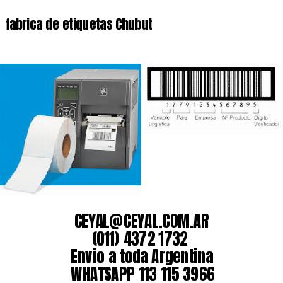 fabrica de etiquetas Chubut