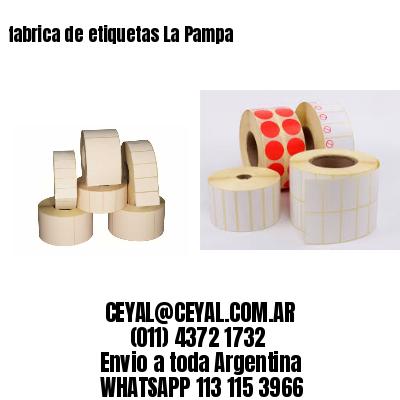 fabrica de etiquetas La Pampa