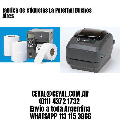 fabrica de etiquetas La Paternal Buenos Aires