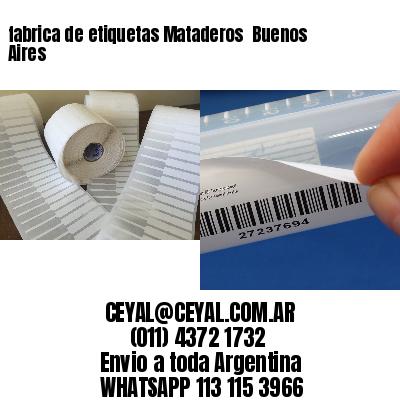 fabrica de etiquetas Mataderos  Buenos Aires