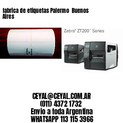 fabrica de etiquetas Palermo  Buenos Aires