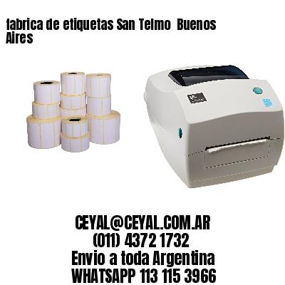 fabrica de etiquetas San Telmo  Buenos Aires