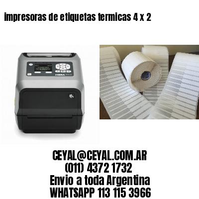 impresoras de etiquetas termicas 4 x 2