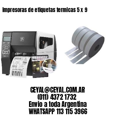 impresoras de etiquetas termicas 5 x 9