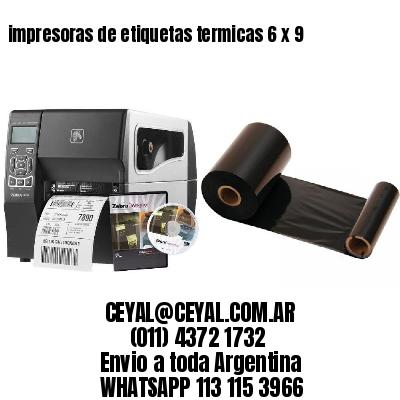 impresoras de etiquetas termicas 6 x 9
