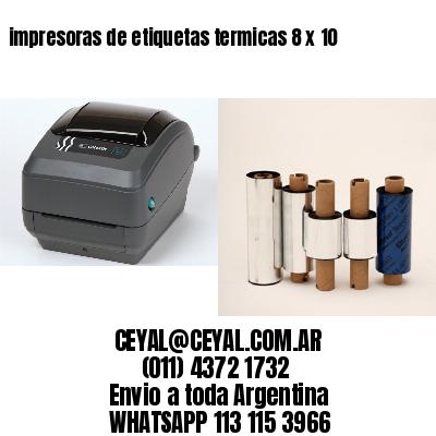 impresoras de etiquetas termicas 8 x 10