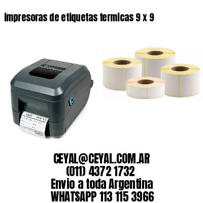 impresoras de etiquetas termicas 9 x 9
