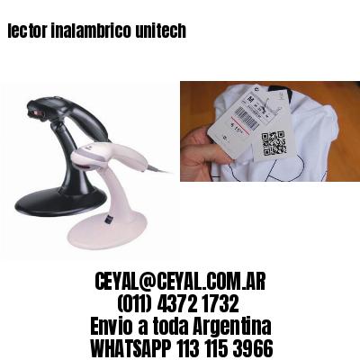 lector inalambrico unitech