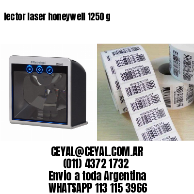 lector laser honeywell 1250 g