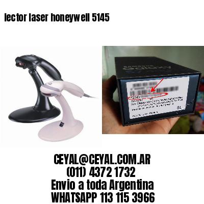lector laser honeywell 5145