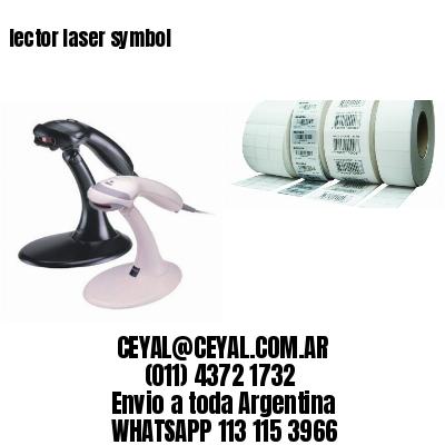 lector laser symbol