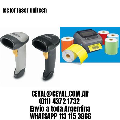 lector laser unitech