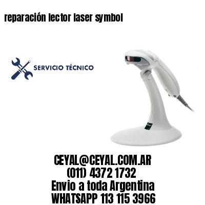 reparación lector laser symbol