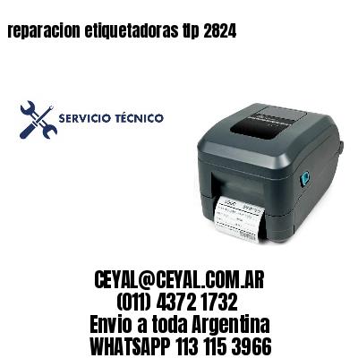reparacion etiquetadoras tlp 2824