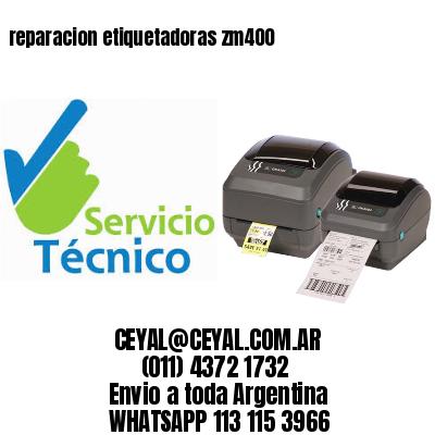 reparacion etiquetadoras zm400