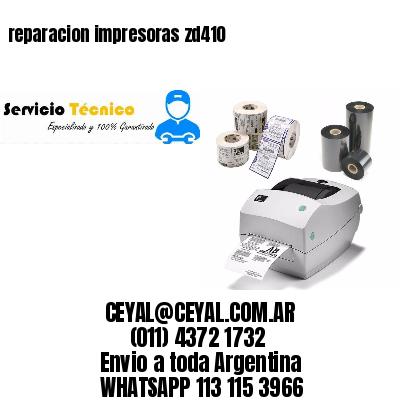 reparacion impresoras zd410